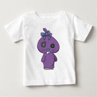 Conejito púrpura del Beanbag Playeras