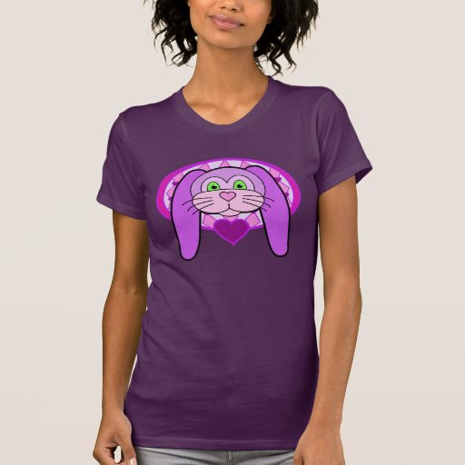 Conejito púrpura playera