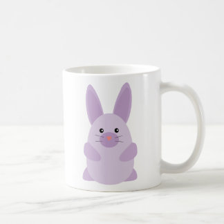 Conejito púrpura tazas de café