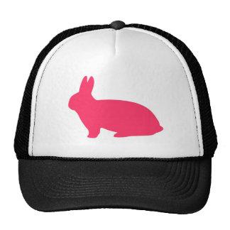 Conejito rosado gorra