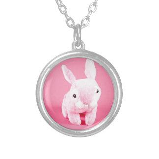 Conejito rosado lindo grimpolas personalizadas