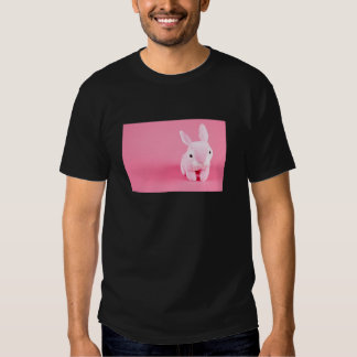 Conejito rosado lindo polera