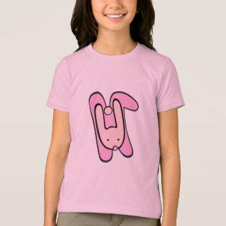 conejito rosado playera