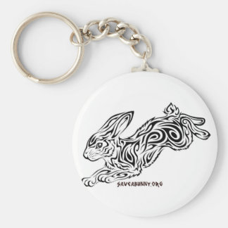 Conejito tribal llavero personalizado