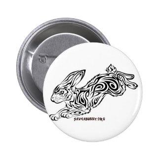 Conejito tribal pin