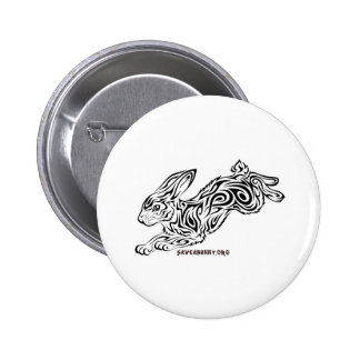 Conejito tribal pins
