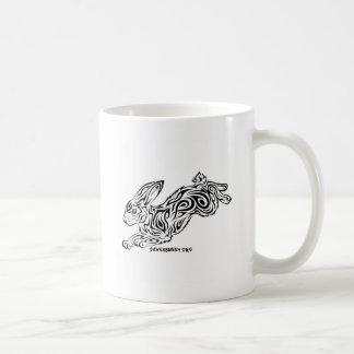 Conejito tribal taza de café
