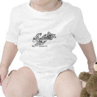 Conejito tribal traje de bebé