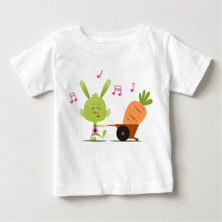 conejito verde playera