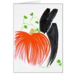 Conejito y pumpkin01 felicitacion