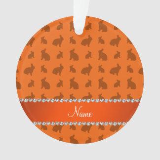 Conejitos anaranjados conocidos personalizados