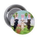 ¡Conejitos de Labrador pascua!! Pins