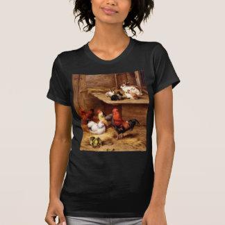 Conejitos de los animales del campo de las camisetas