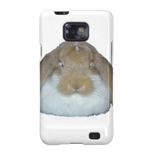 Conejitos de Ollie - adorable lindo del conejito d Samsung Galaxy SII Fundas