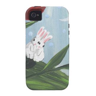conejitos del amor iPhone 4/4S carcasa
