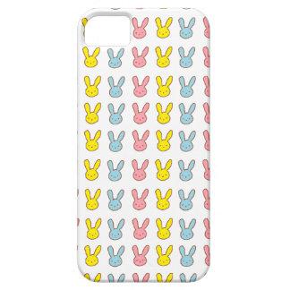 Conejitos del arco iris iPhone 5 protector