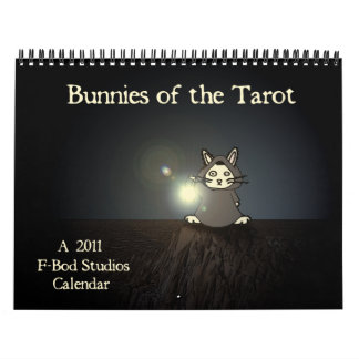 Conejitos del calendario de Tarot 2011