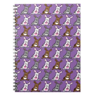 Conejitos divertidos libro de apuntes