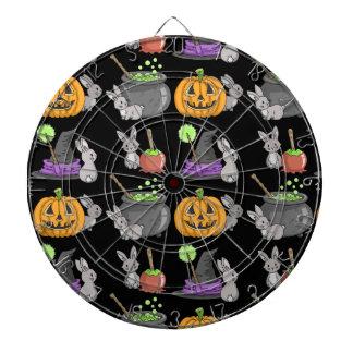 Conejitos fantasmagóricos de Halloween