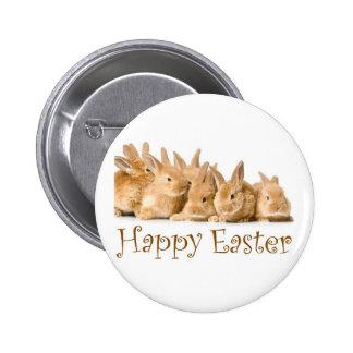 Conejitos felices del bebé de Pascua Pins