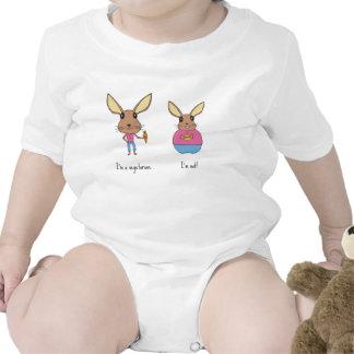 Conejitos lindos trajes de bebé