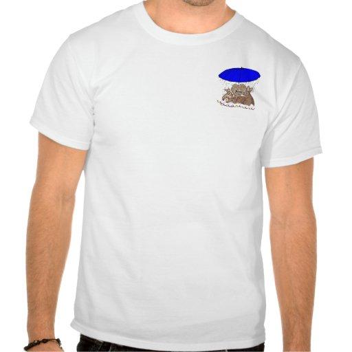 Conejitos mojados camisetas
