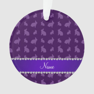 Conejitos púrpuras conocidos personalizados