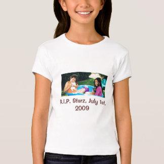 conejitos, R.I.P. Starz, el 1 de julio de 2009 Remeras