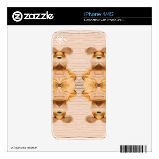 Conejitos Trippy iPhone 4 Calcomanías