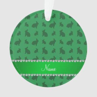 Conejitos verdes conocidos personalizados