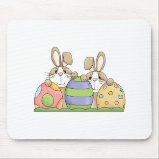 conejitos y huevos de pascua tapetes de ratón