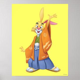 Conejo 1 póster