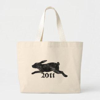 Conejo 2011 del vintage bolsas de mano