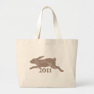Conejo 2011 del vintage bolsas