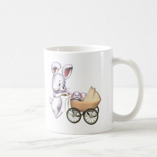 conejo 3D Tazas De Café