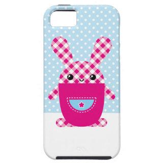 Conejo a cuadros de Kawaii iPhone 5 Case-Mate Fundas