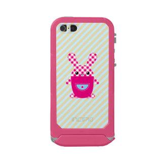 Conejo a cuadros de Kawaii Funda Para iPhone 5 Incipio ATLAS ID