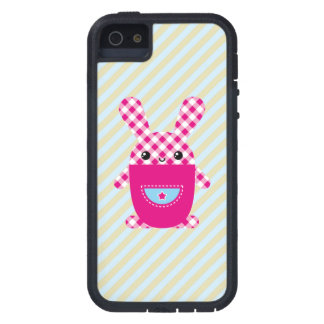 Conejo a cuadros de Kawaii iPhone 5 Carcasa