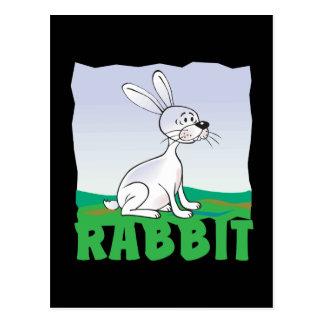 Conejo amistoso del niño tarjetas postales