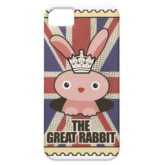 Conejo animal GB Reino Unido de Wellcoda gran iPhone 5 Carcasa