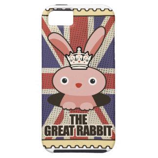 Conejo animal GB Reino Unido de Wellcoda gran iPhone 5 Funda
