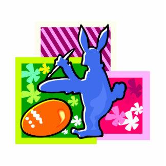conejo azul pascua egg.png de la sombra de la pint esculturas fotograficas