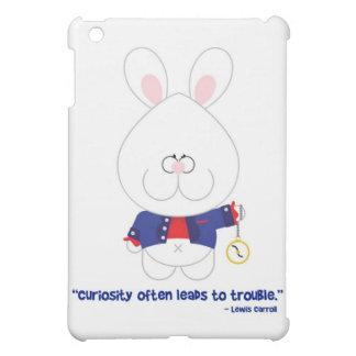 Conejo blanco Alicia de la curiosidad en el país d
