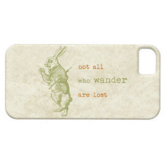 Conejo blanco, Alicia en el país de las maravillas iPhone 5 Case-Mate Carcasas