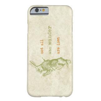 Conejo blanco, Alicia en el país de las maravillas Funda Para iPhone 6 Barely There