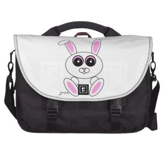 Conejo blanco bolsas de portatil