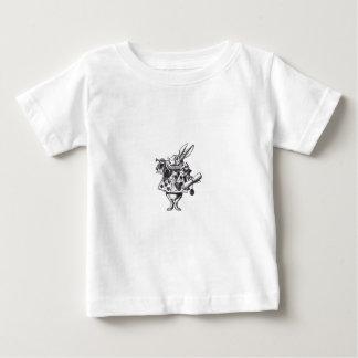 Conejo blanco camisas