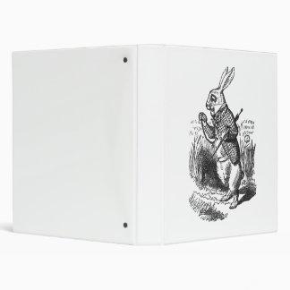 "Conejo blanco carpeta 1"""
