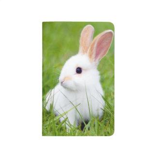 Conejo blanco cuaderno