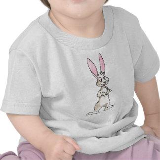 Conejo blanco derecho camiseta
